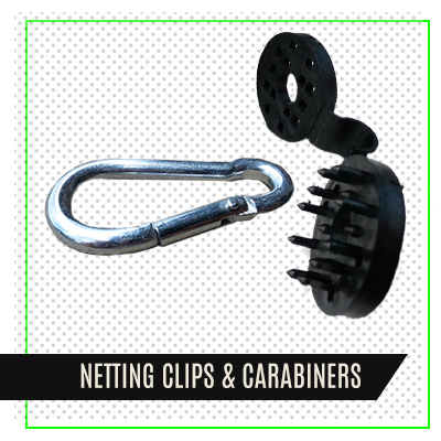 Netting Clips & Carabiners
